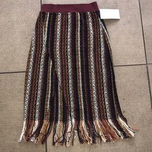 New with tags! Pretty Zara sexy fringe skirt